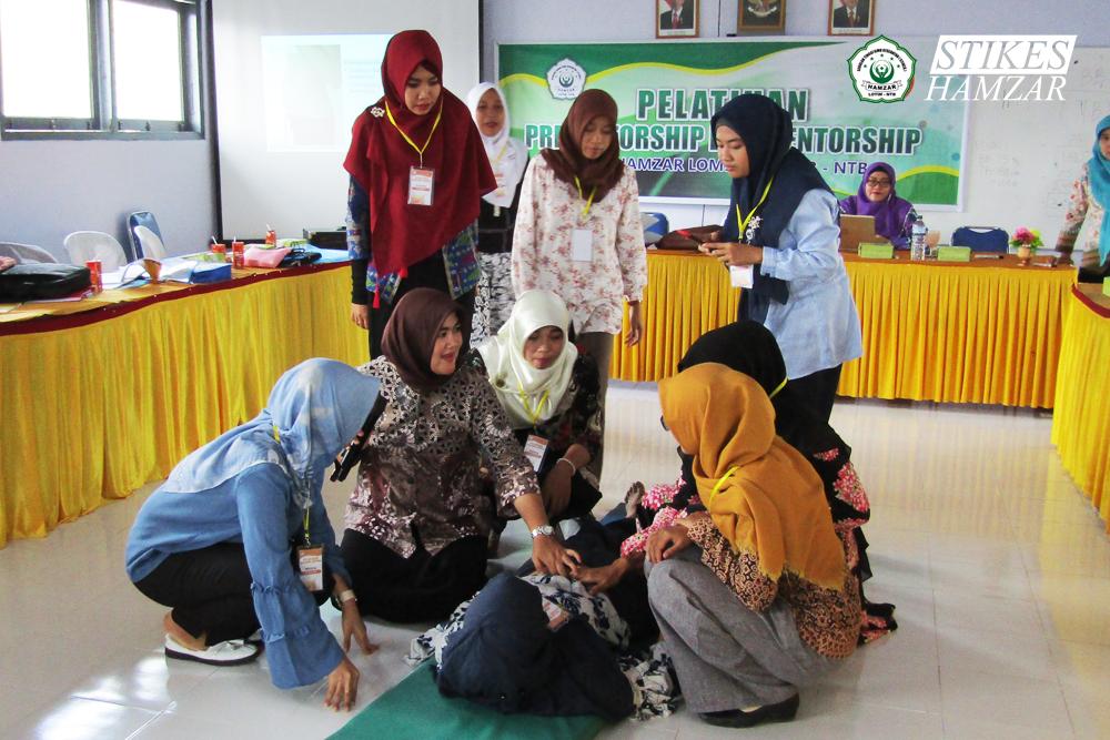 STIKes Hamzar Lombok Timur Mengadakan Pelatihan Preseptorship dan Mentorship