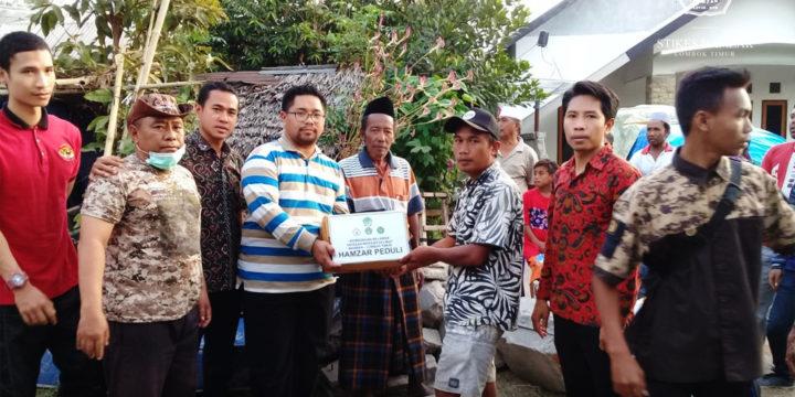Ketua Yayasan Maraqitta'limat Bersama Tim Hamzar Peduli Turun Langsung Bantu Korban Gempa Lombok