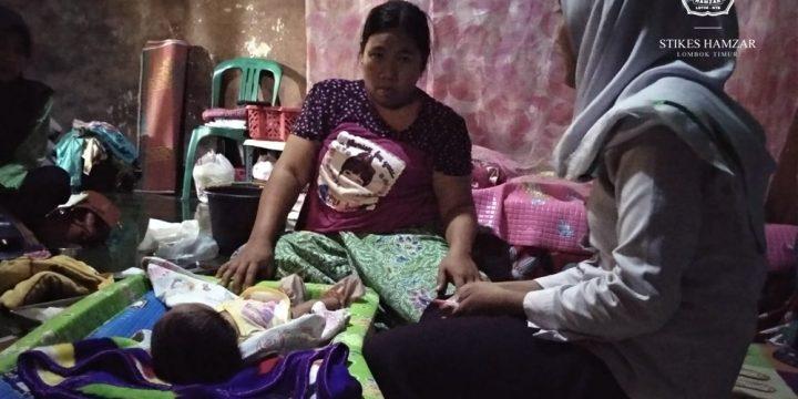 Bersama Puskesmas Batuyang, Mahasiswa DIII Kebidanan STIKes Hamzar Lakukan KN KF