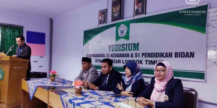 37 Mahasiswa STIKes Hamzar Resmi Diyudisium