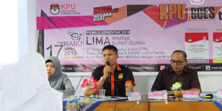 KPU Lombok Timur Goes to Campus STIKes Hamzar