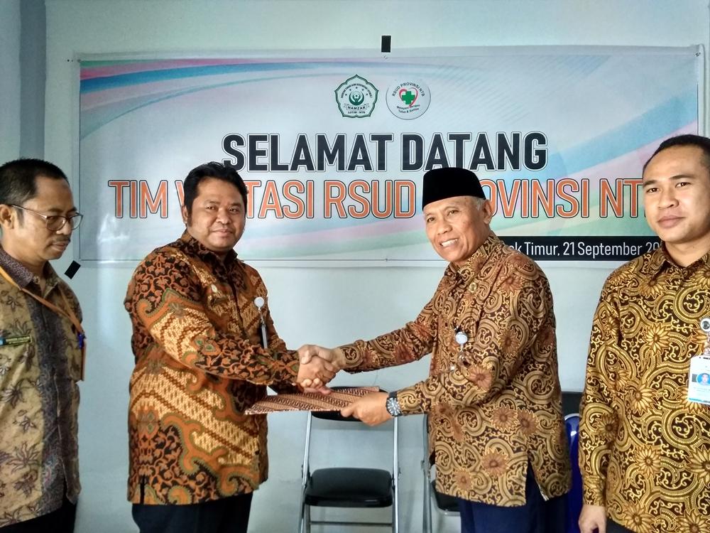 Resmi Mou STIKes Hamzar dan RSUD Provinsi NTB