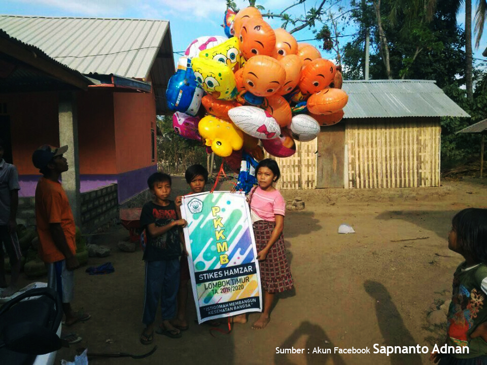 Perjalanan Balon PKKMB 2019 Berakhir di Lombok Utara