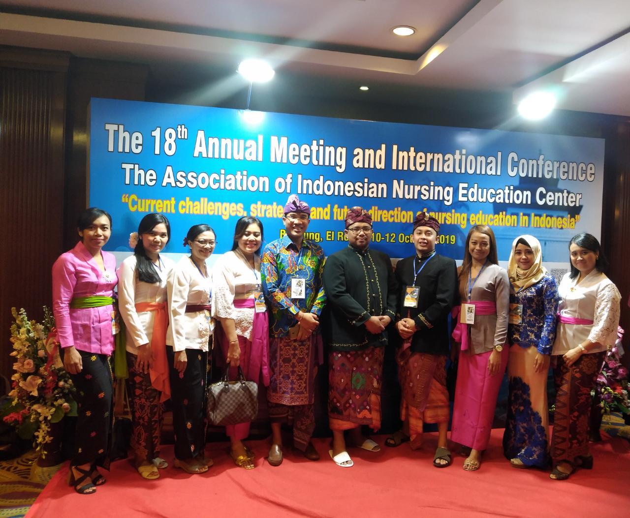 STIKes Hamzar bersama dengan anggota AIPNI Regional X