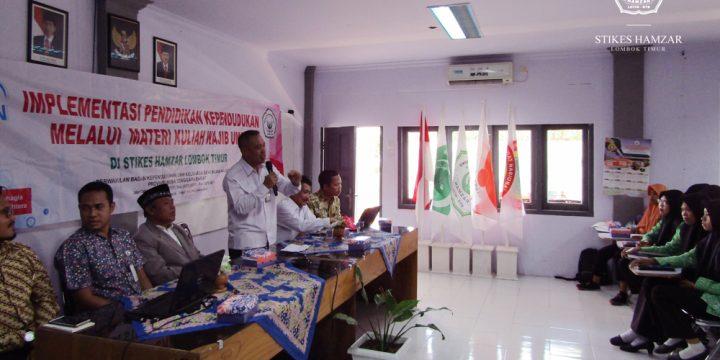 STIKes Hamzar Adakan Kuliah Umum Bersama BKKBN NTB