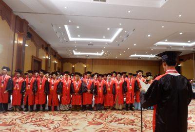 136 Lulusan STIKes Hamzar Ikuti Wisuda Bersama 2020